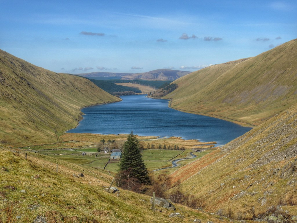 Talla reservoir, breathtaking!
