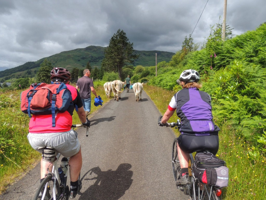 What passes for traffic at Loch Katrine!