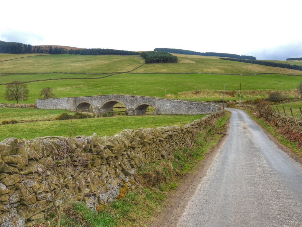 Lugate Bridge near Stow, dating from the late 18th century apparently.