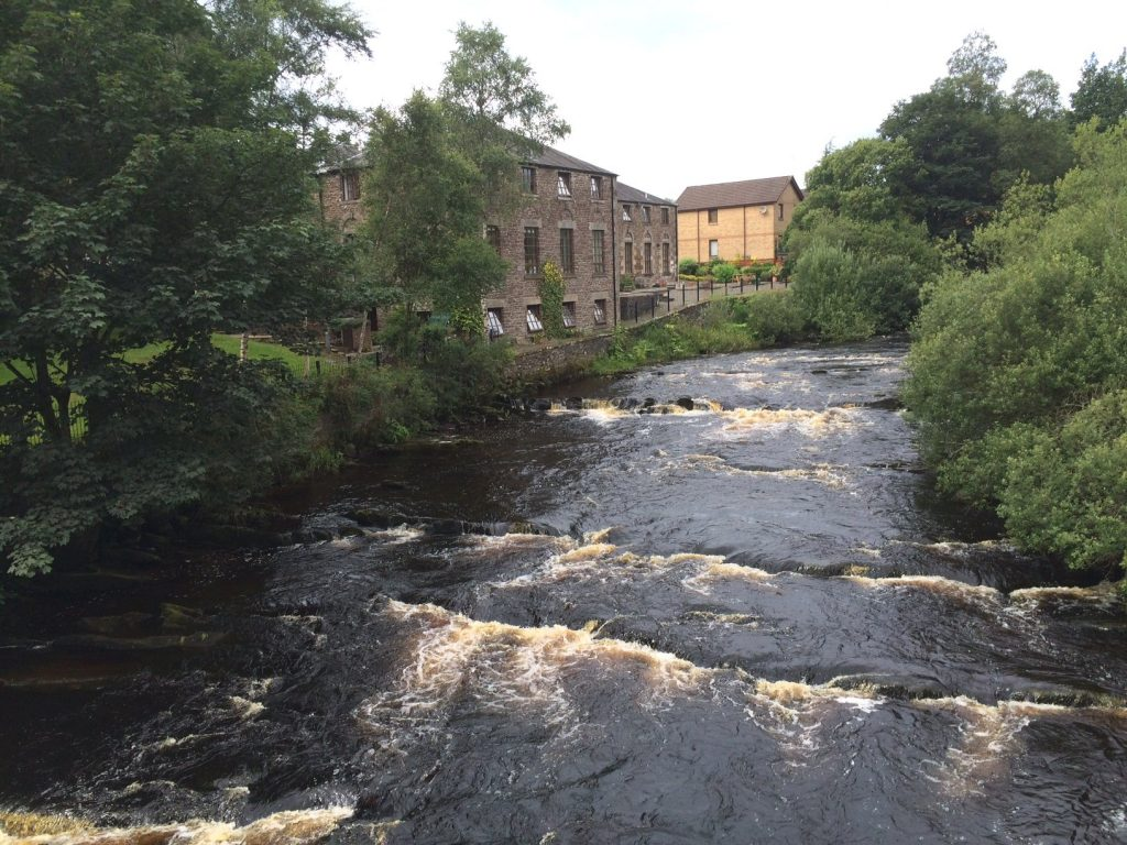 The Allan Water at Dunblane
