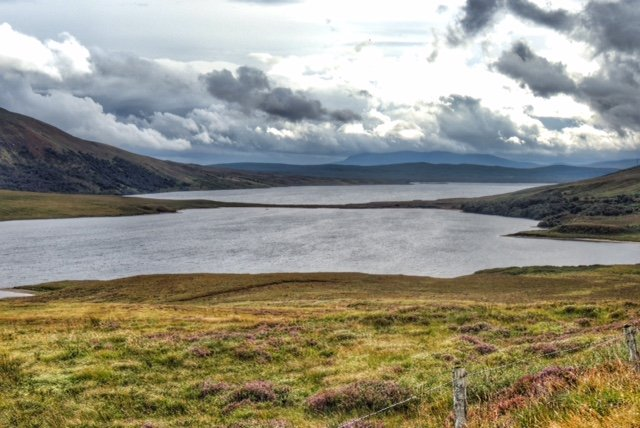 Loch Craggie (nearest) and Loch Loyal